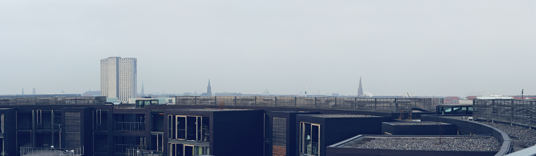 View from the roof of the Tietgen Dormitory.