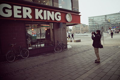Shooting Burger King