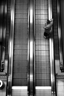 Escalators and flip flops