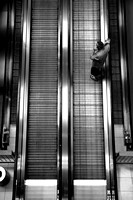 Escalators and flip flops